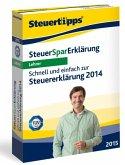 Steuer-Spar-Erklärung 2015 Lehrer