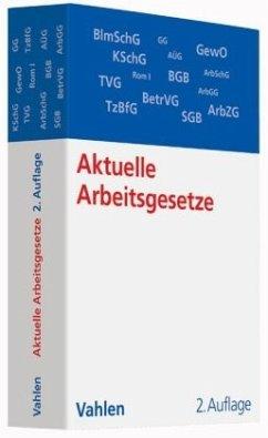 Aktuelle Arbeitsgesetze (ArbG)