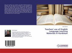 Teachers' use of English Language Learning Materials in Kurdistan