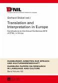 Translation and Interpretation in Europe