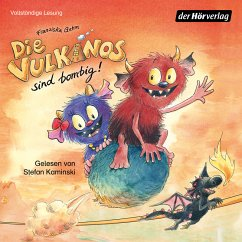Die Vulkanos sind bombig! / Vulkanos Bd.2 (MP3-Download) - Gehm, Franziska