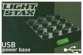 Light Stax, Bausteine, Power Base (inkl. USB-Kabel)