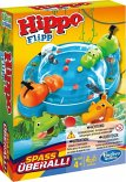 Hasbro B1001100 - Hippo Flip Kompakt, Reaktionsspiel, Reisespiel