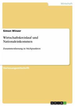 Wirtschaftskreislauf und Nationaleinkommen (eBook, PDF)