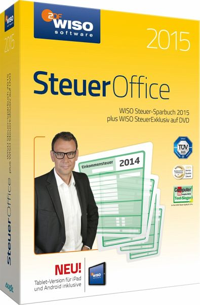 wiso steuer office 2015 software. Black Bedroom Furniture Sets. Home Design Ideas