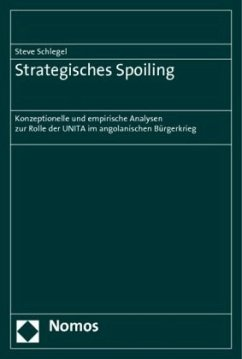 Strategisches Spoiling - Schlegel, Steve