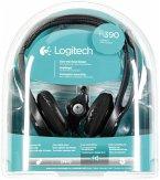 Logitech H390 Headset USB 2.0 schwarz