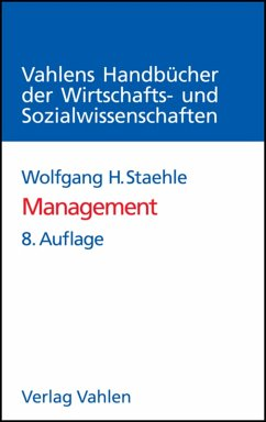 Management (eBook, PDF) - Staehle, Wolfgang H.; Conrad, Peter; Sydow, Jörg