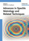 Advances in Speckle Metrology and Related Techniques (eBook, ePUB)