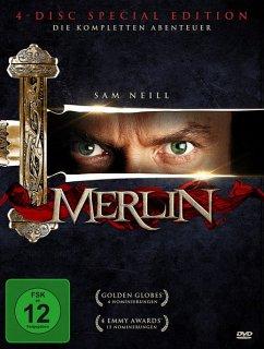Merlin - Die komplette Serie (4 Discs)