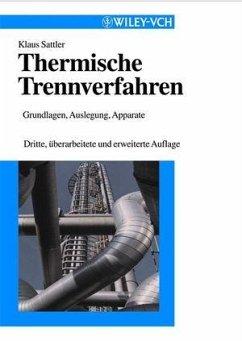 Thermische Trennverfahren (eBook, PDF) - Sattler, Klaus