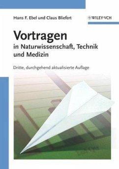 Vortragen (eBook, ePUB) - Bliefert, Claus; Ebel, Hans Friedrich