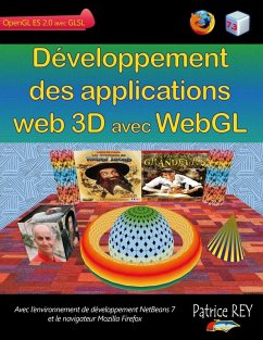 Developpement des applications web 3D avec WebGL (eBook, ePUB) - Rey, Patrice