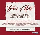 Letters of Note - Briefe, die die Welt bedeuten, 3 Audio-CDs