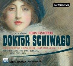 Doktor Schiwago, 4 Audio-CDs - Pasternak, Boris