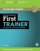 First Trainer. Second edition. Six Practice Tests with answers and downloadable audio