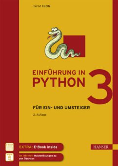 Einführung in Python 3 - Klein, Bernd