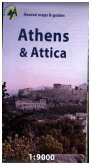 Anavasi City Map Athens, Attica