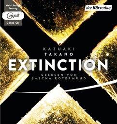 Extinction, 2 MP3-CDs - Takano, Kazuaki