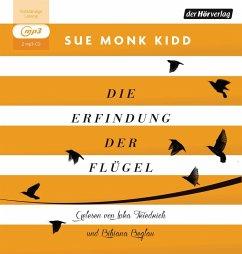 Die Erfindung der Flügel, 2 MP3-CDs - Kidd, Sue Monk