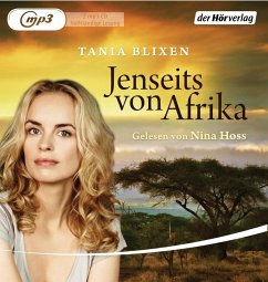 Jenseits von Afrika, 2 MP3-CDs - Blixen, Tania