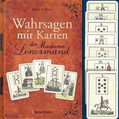 Wahrsagen mit Karten der Madame Lenormand-Set