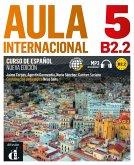 Aula internacional 5. Libro del alumno + Audio-CD (mp3). Nueva edición