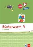 Bücherwurm Sachheft. Arbeitsheft 4. Schuljahr für Thüringen