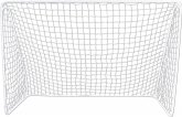 New Sports Fußballtor, 213x150x76cm, weiß