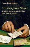 Mit Brief und Siegel (eBook, ePUB)