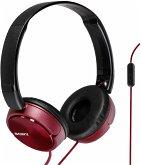Sony MDR-ZX310APR On-Ear Kopfhörer rot