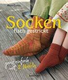 Socken flach gestrickt (eBook, PDF)
