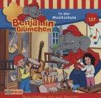 Benjamin Blümchen in der Musikschule / Benjamin Blümchen Bd.127 1 (Audio-CD)