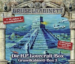 Box 3 / Gruselkabinett (4 Audio-CDs) - Lovecraft, Howard Ph.