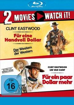 Für eine Handvoll Dollar & Für ein paar Dollar mehr - 2 Disc Bluray
