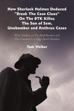 How Sherlock Holmes Deduced