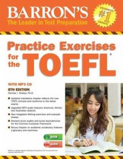 Practice Exercises for the TOEFL with 6 Audio-CDs - Sharpe, Ph.D. Pamela J.
