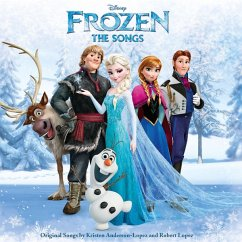 Frozen (Die Eiskönigin): The Songs,Englisch - Diverse