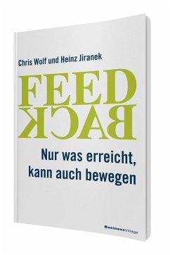 Feedback - Wolf, Chris; Jiranek, Heinz