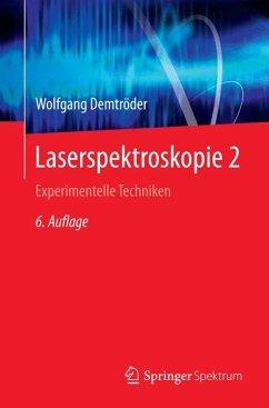 Laserspektroskopie 2 - Demtröder, Wolfgang