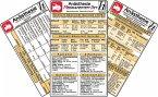 Anästhesie Medikamenten-Set, 3 Medizinische Taschen-Karten