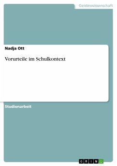 Vorurteile im Schulkontext (eBook, PDF)