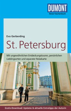 DuMont Reise-Taschenbuch Reiseführer St.Petersburg - Gerberding, Eva