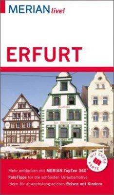 MERIAN live! Reiseführer Erfurt
