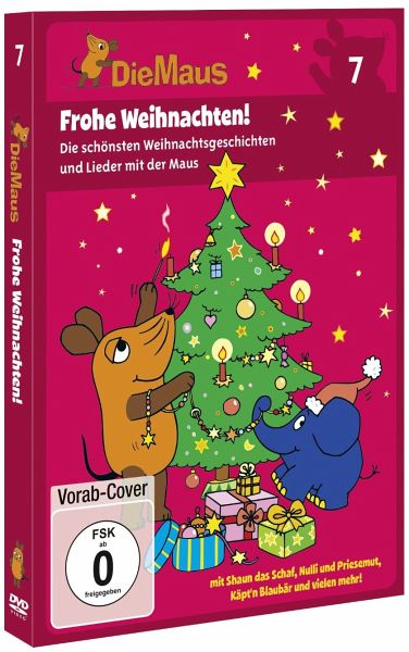 die maus 7 frohe weihnachten auf dvd portofrei bei. Black Bedroom Furniture Sets. Home Design Ideas