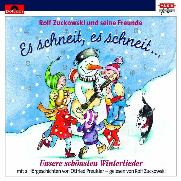 Rolf Zuckowski Weihnachtslieder Texte.Es Schneit Es Schneit Schonste Winterlieder 1 Audio Cd