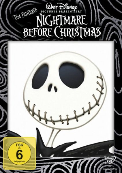 nightmare before christmas film auf dvd. Black Bedroom Furniture Sets. Home Design Ideas