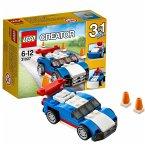 LEGO® Creator 31027 - blauer Rennwagen, 3-in-1 Set