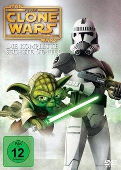 Star Wars: The Clone Wars - Staffel 6 DVD-Box