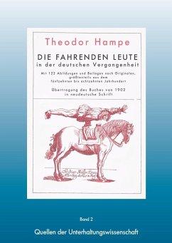 Fahrende Leute - Die fahrenden Leute in der deutschen Vergangenheit (eBook, ePUB)